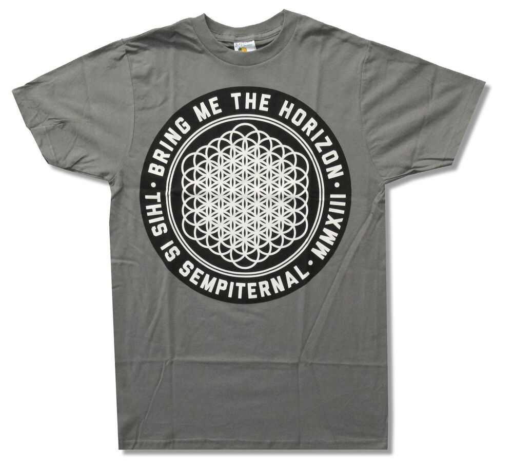 Bring Me The Horizon Quot Sempiternal Quot Grey T Shirt New