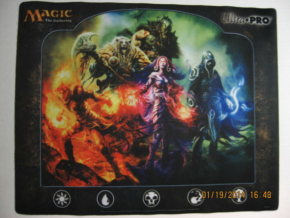 Ultrapro Magic The Gathering Lorwyn Planeswalkers Playmat
