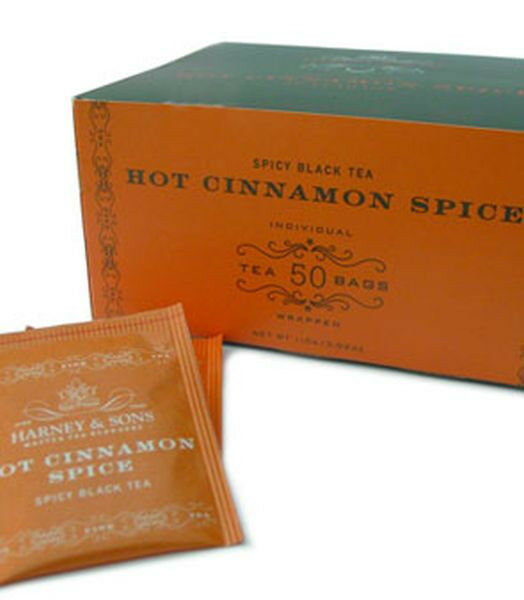 Harney and sons hot cinnamon spice tea