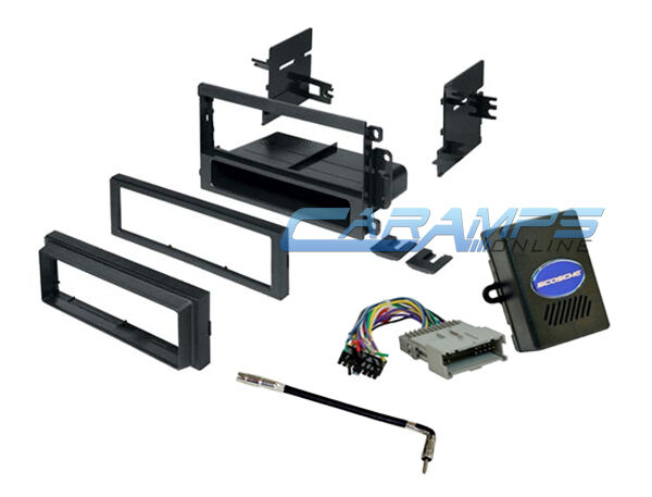 Wiring Harness Kit For Radio : Car stereo radio dash installation bezel kit with chime