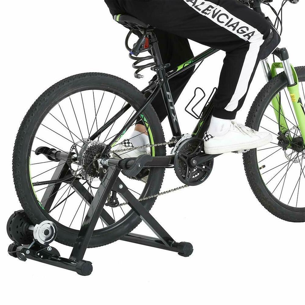 New Cycle Bike Trainer Indoor Bicycle Exercise Portable ...