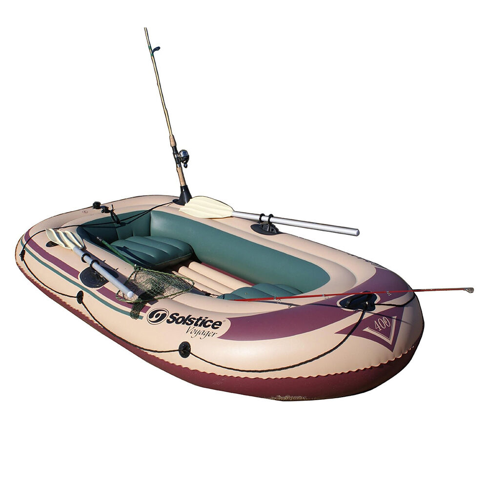 Solstice swimline voyager 30400 inflatable 4 person for 4 person fishing boat
