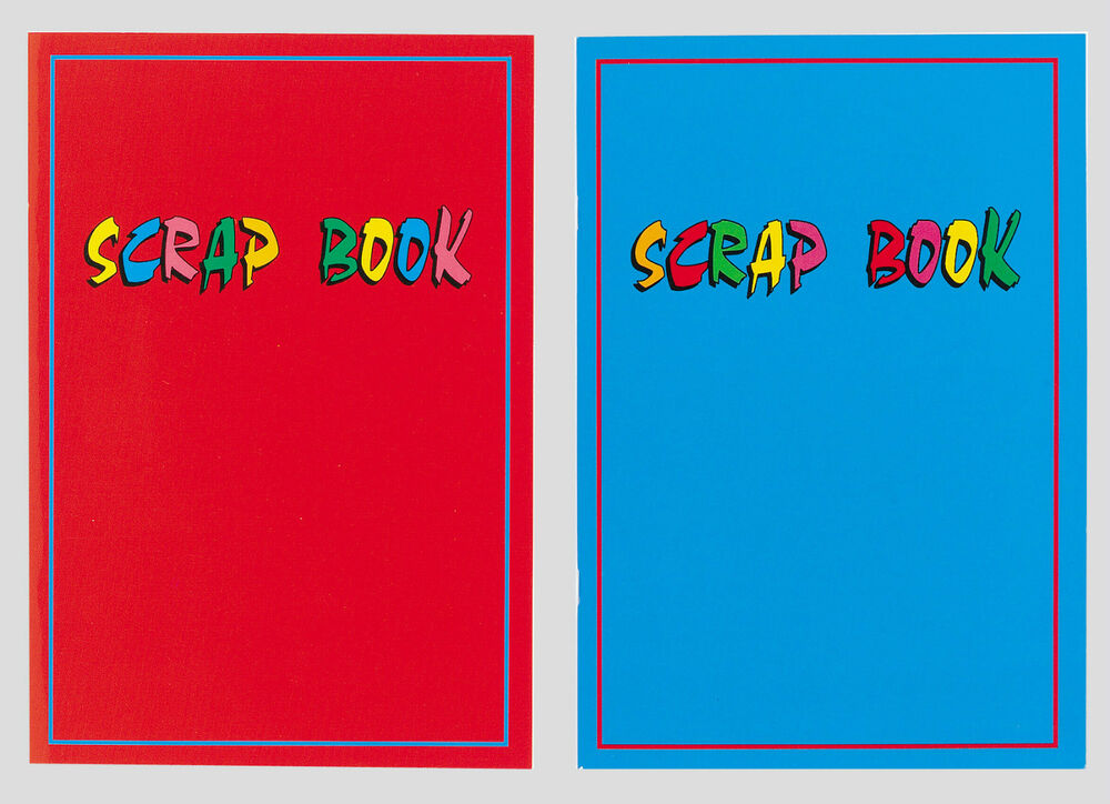Book Cover Paper Thickness : Scrapbooks set of two scrap book laminate covers pages