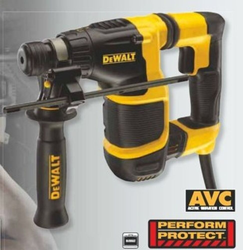 dewalt d 25052 k sds plus bohrhammer 650 watt d25052k ebay. Black Bedroom Furniture Sets. Home Design Ideas
