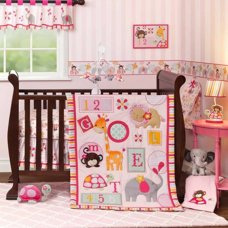 lambs ivy bedtime originals 3 pc baby crib nursery. Black Bedroom Furniture Sets. Home Design Ideas