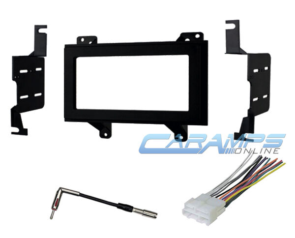 Double din car stereo radio receiver truck installation