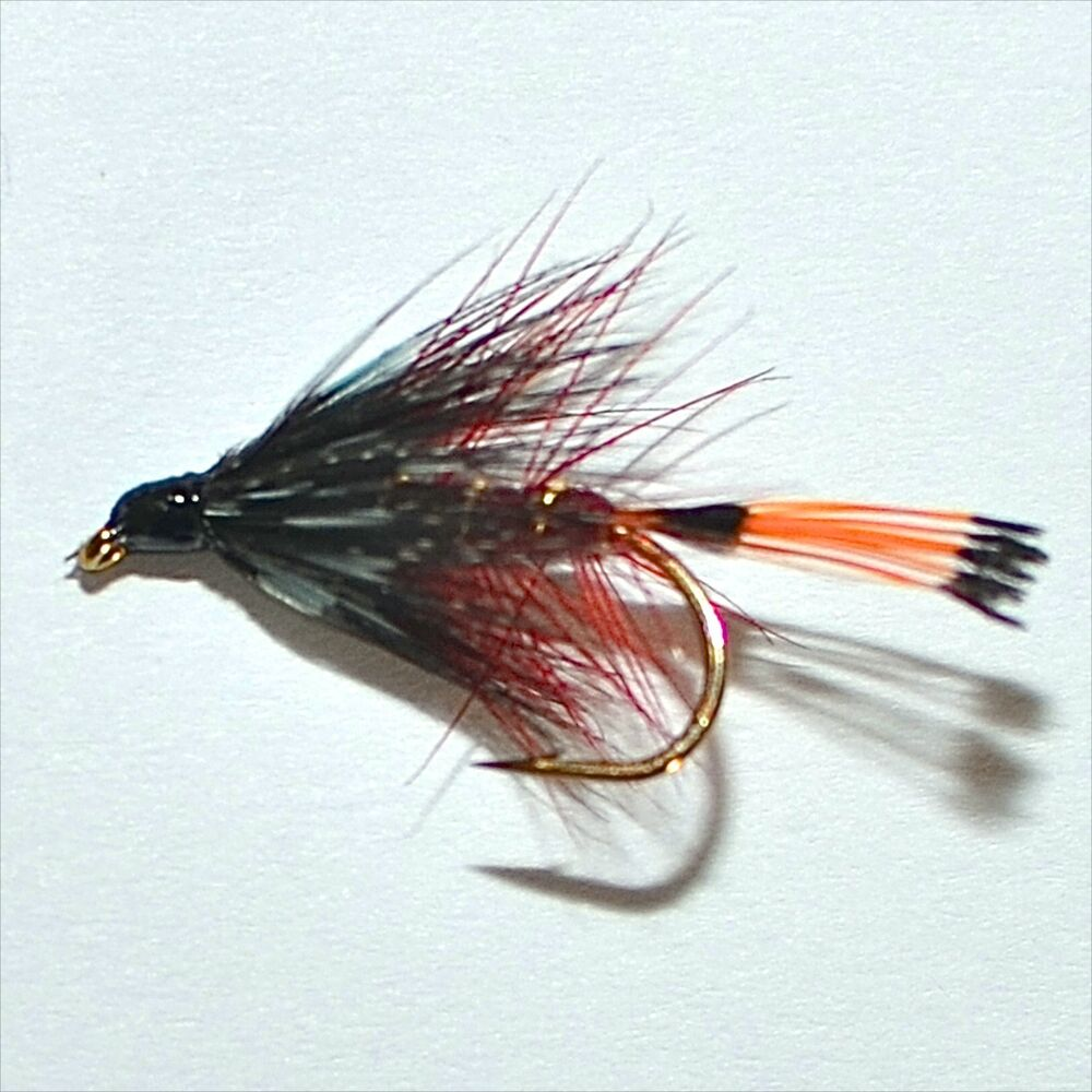 claret bumble trout grayling wet fly fishing flies by