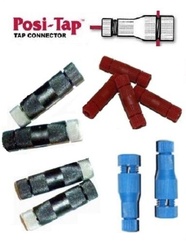 Posi tap wire connectors mixed ten pack pta pl