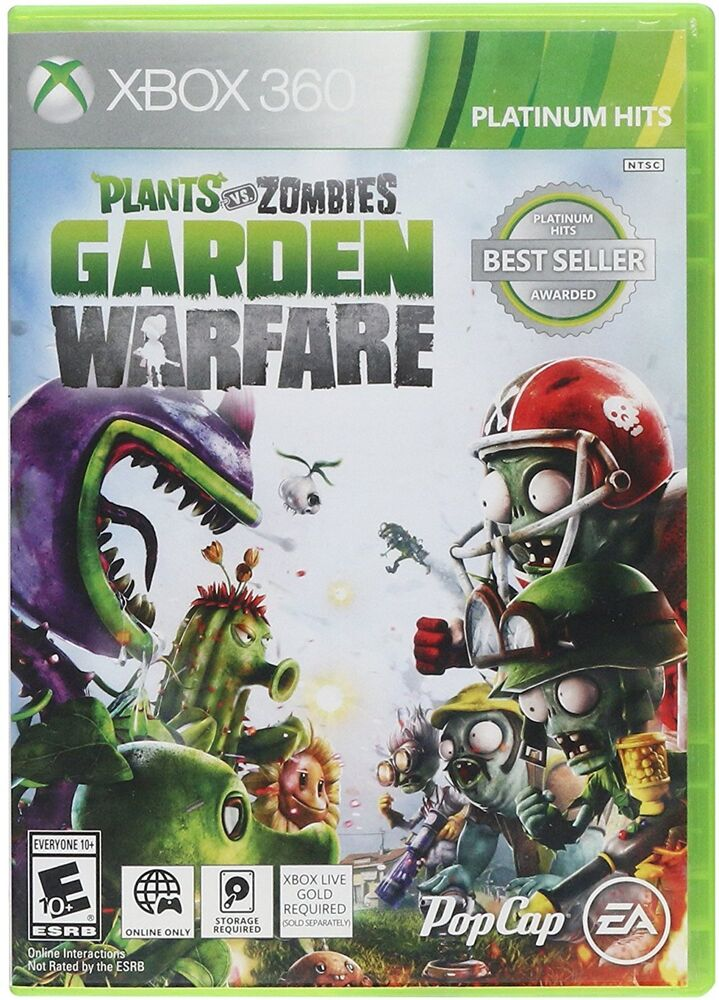 Zombie Games For Xbox 360 : Plants vs zombies garden warfare xbox