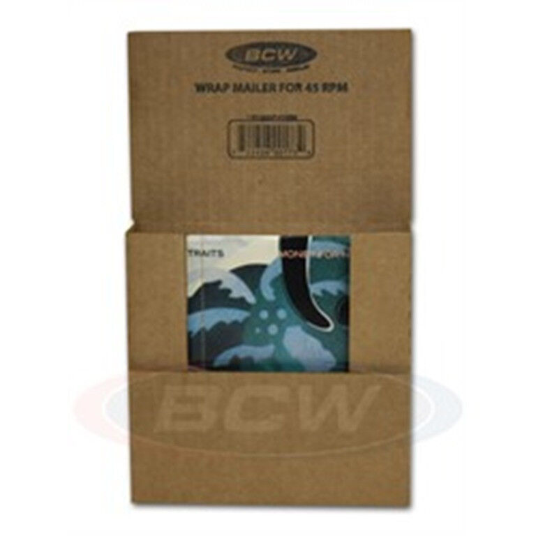 45 rpm record album mailers corrugated boxes bcw 10 ebay. Black Bedroom Furniture Sets. Home Design Ideas