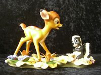 """Disney WDCC LE 8378/10000 Bambi """"He Can Call Me Flower If He Wants To"""" NIB"""