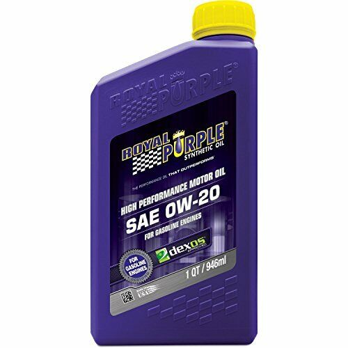 Royal purple 0w20 synthetic motor oil 1 qt quart ebay for What is synthetic motor oil made from
