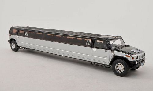 wonderful modelcar hummer h2 stretch limousine 1 43. Black Bedroom Furniture Sets. Home Design Ideas