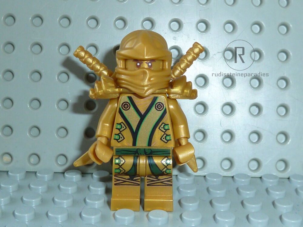 lego ninjago goldener ninja figur lloyd gold 70503 70505. Black Bedroom Furniture Sets. Home Design Ideas