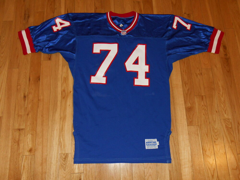 Vintage 1980s Gerry Crosby Conway New York Giants 74 Nfl