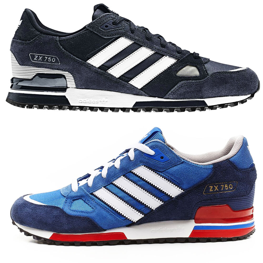 new adidas originals zx750 sports running casual trainers
