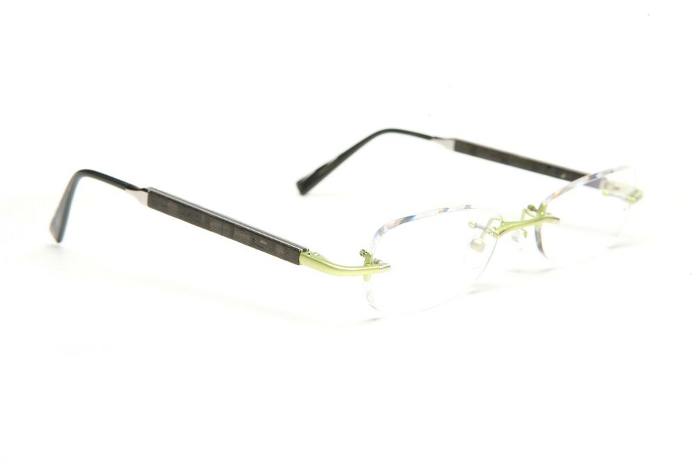 GOLD AND WOOD RIMLESS EYEGLASSES GLASSES SUNGLASSES R22.39 ...
