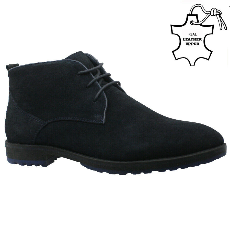 new mens ladies desert boots suede casual lace up fashion ankle trainers shoes ebay. Black Bedroom Furniture Sets. Home Design Ideas