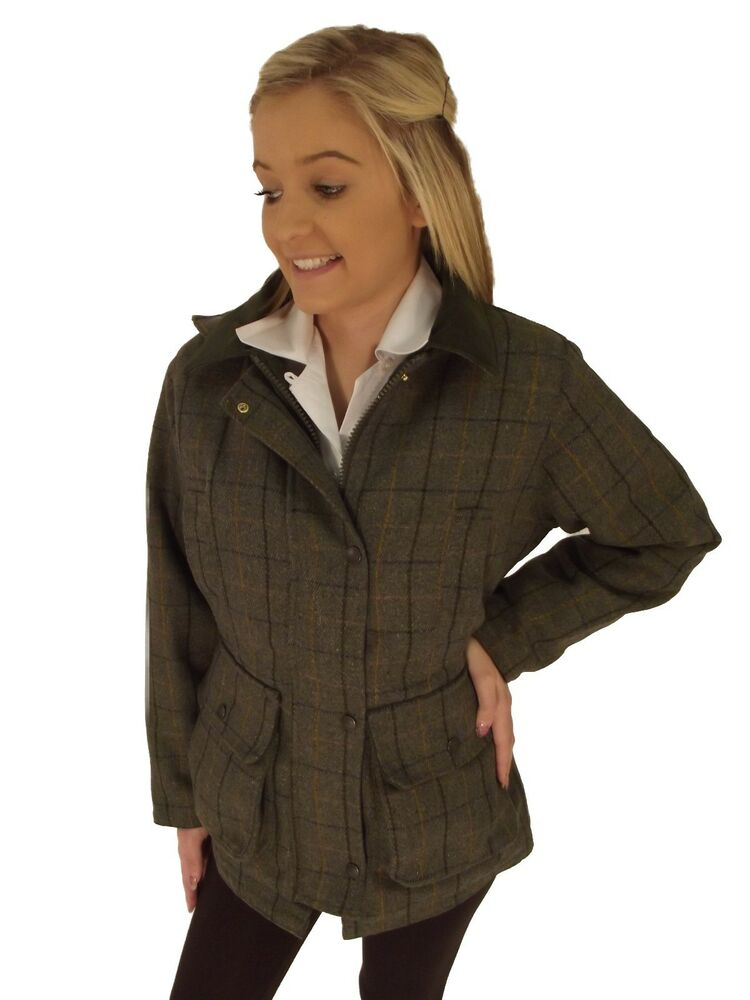 Take a look at our tweed jackets and vests! Any of the tweed swatches shown in the