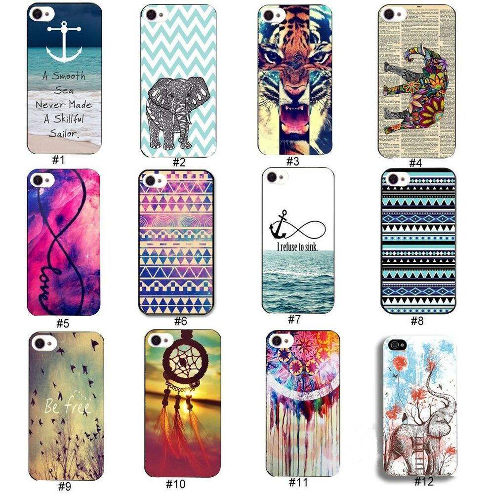 Colorful Hybrid Cute Hard Plastic Back cell Case Cover For ...