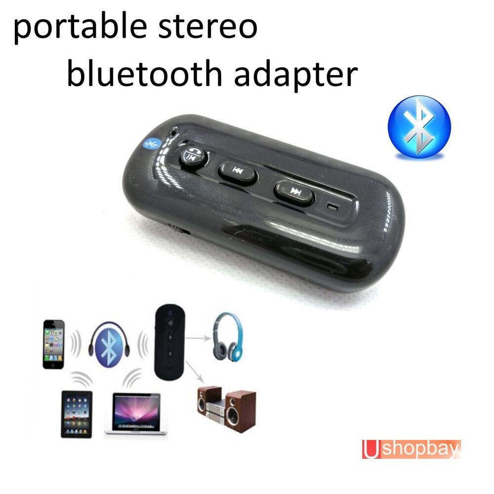 Bluetooth Portable Stereo Music/ Audio Adapter + EDR