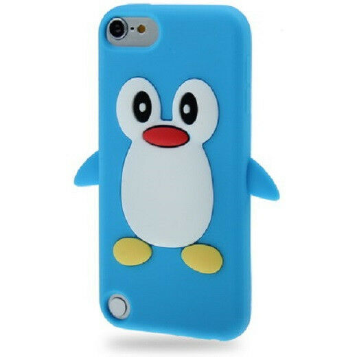 Coque silicone cartoon pingouin pour ipod touch 5 et ipod for Housse ipod touch 5
