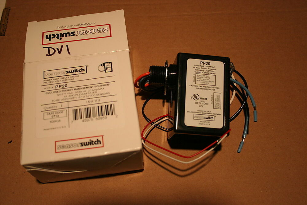 Sensor Switch Pp20 Power Pack Relay New In Box More