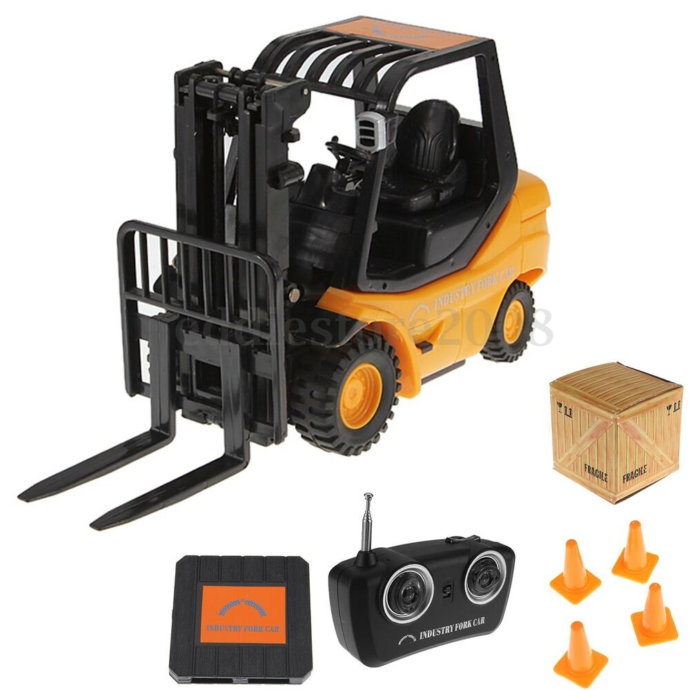 Forklift Truck Controls : Mini rc toy channel forklift fork lift radio remote