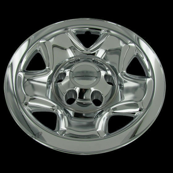 for 2005 15 toyota tacoma 4 16 chrome wheel skin hubcaps. Black Bedroom Furniture Sets. Home Design Ideas