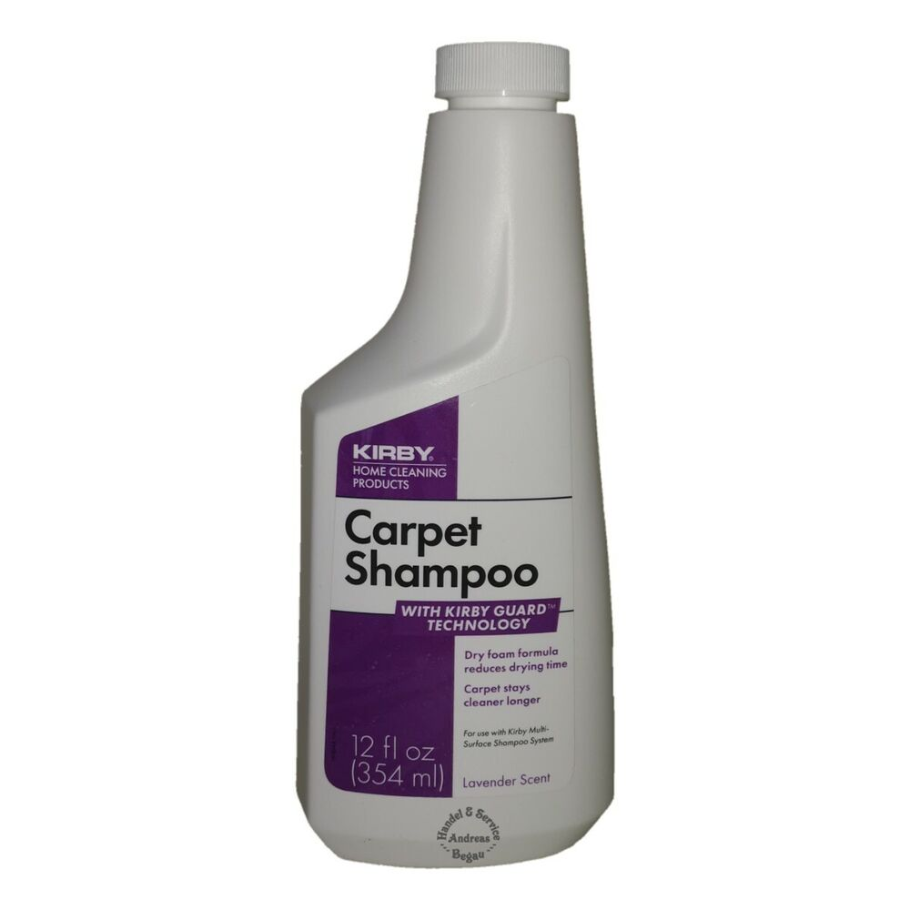 Original kirby allergen carpet shampoo 354ml - Kirby sentria 2 carpet shampoo system ...
