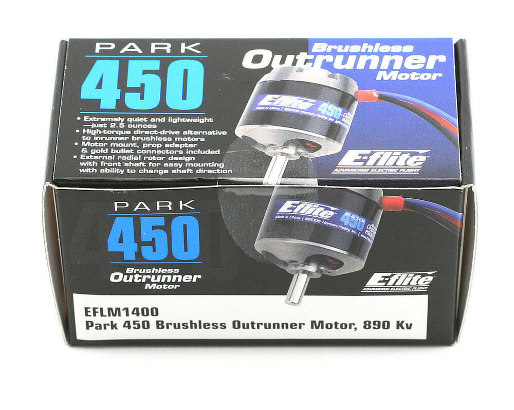 Eflite Park 450 Electric Brushless Outrunner Rc Airplane
