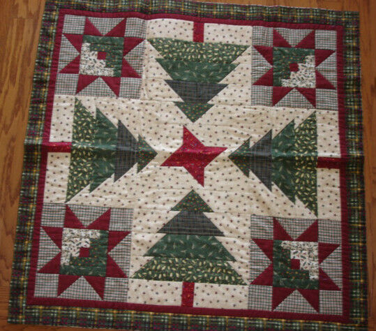 Instructions Only Log Cabins In The Trees Quilt Pattern