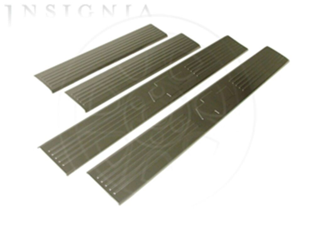 Gm 17802521 Front Amp Rear Door Sill Plates With Logo For 07