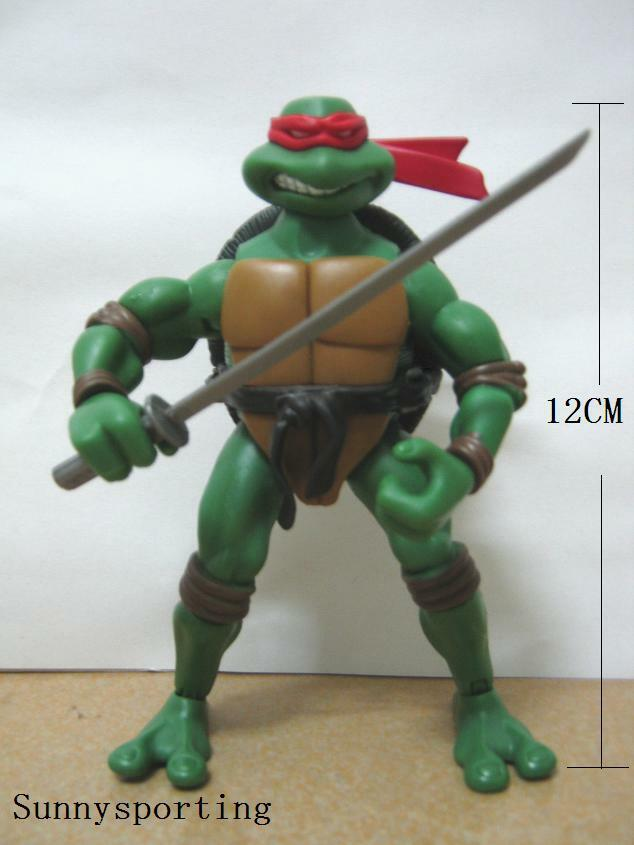 "TEENAGE MUTANT NINJA TURTLES Raphael 4.7""ACTION FIGURE ..."