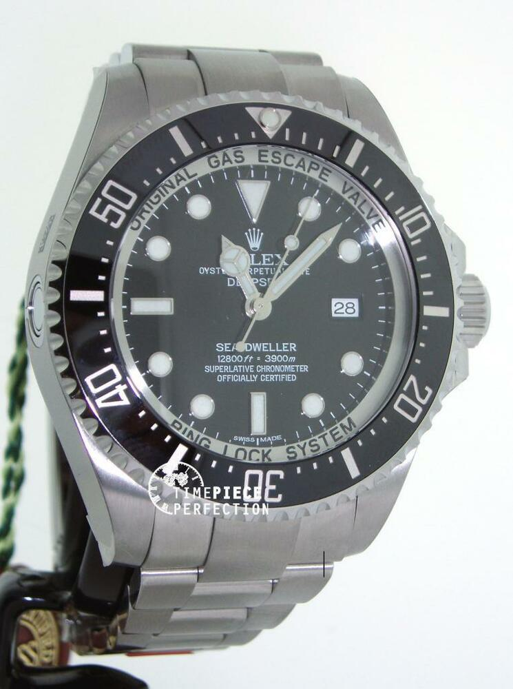 rolex sea dweller deep sea 116660 mens watch new 639767606578 ebay