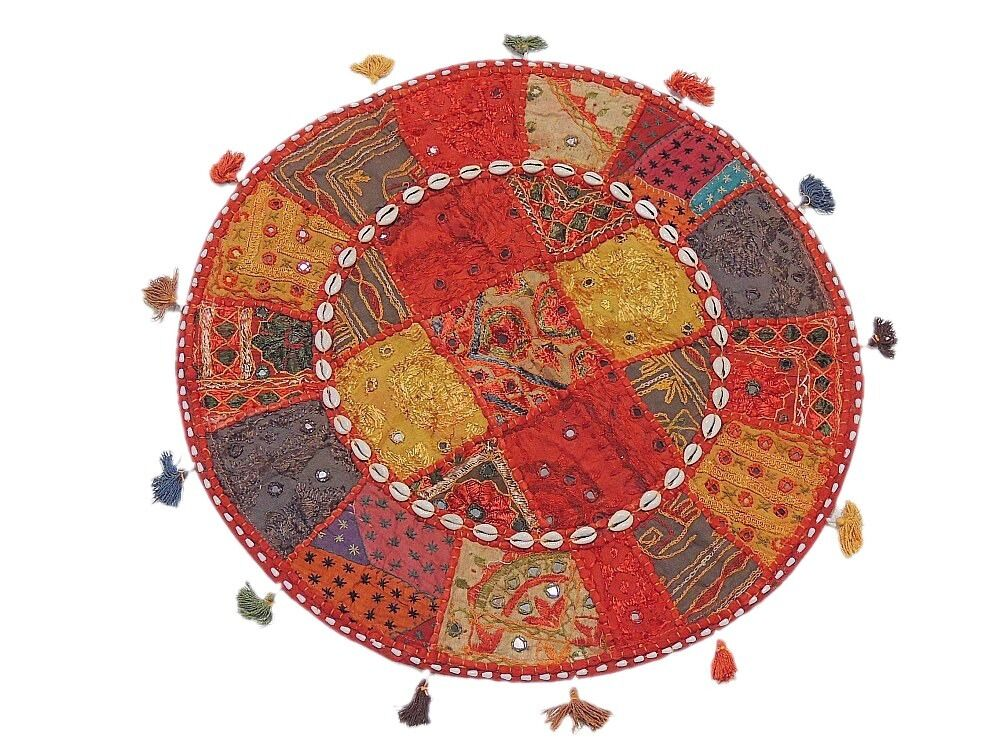 Comfy Floor Seating Pillow Cover Living Room Big Round Handmade India Cushion eBay