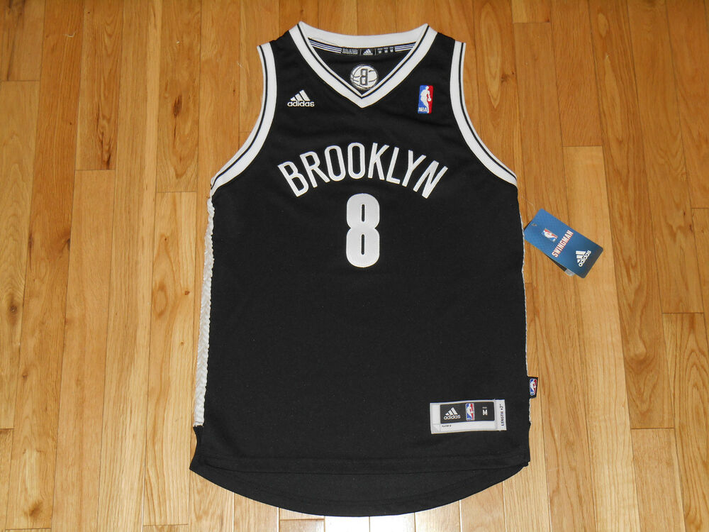 NEW ADIDAS DERON WILLIMAS BROOKLYN NETS YOUTH NBA TEAM STITCHED JERSEY MED  10-12  e4ce47626