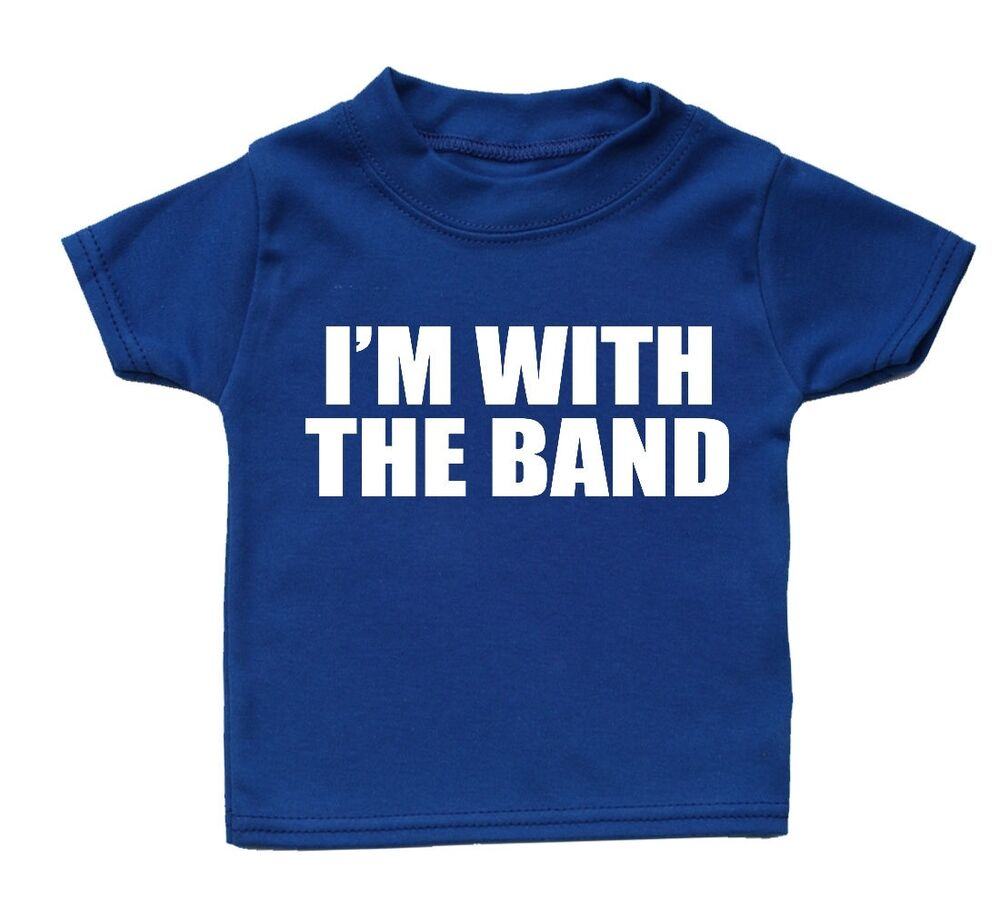 Make a bold statement with our Baby Band T-Shirts, or choose from our wide variety of expressive graphic tees for any season, interest or occasion. Whether you want a sarcastic t-shirt or a geeky t-shirt to embrace your inner nerd, CafePress has the tee you're looking for.