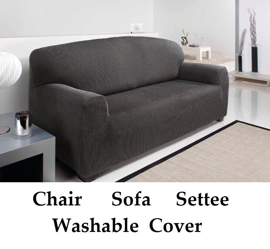 3 Seater Grey Easy Fit Stretch Elastic Fabric Chair Sofa  : s l1000 from www.ebay.co.uk size 888 x 817 jpeg 96kB