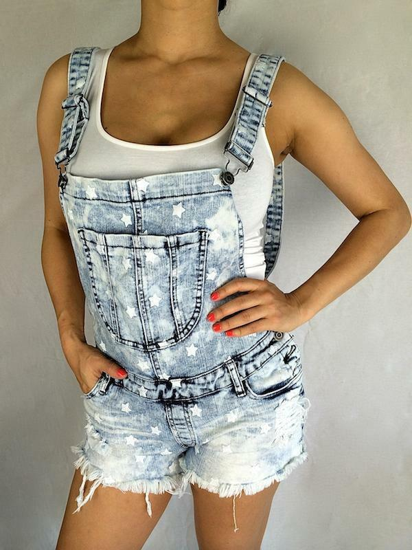 Cutout Jeans Destroyed Ripped Distressed Women Denim