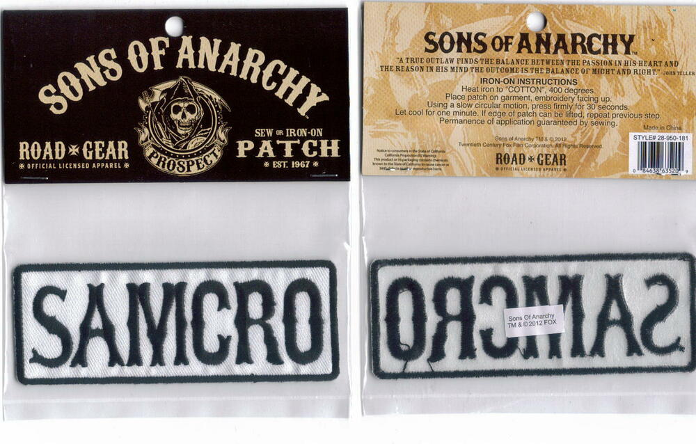 patch sons of anarchy - Achat et Vente Neuf
