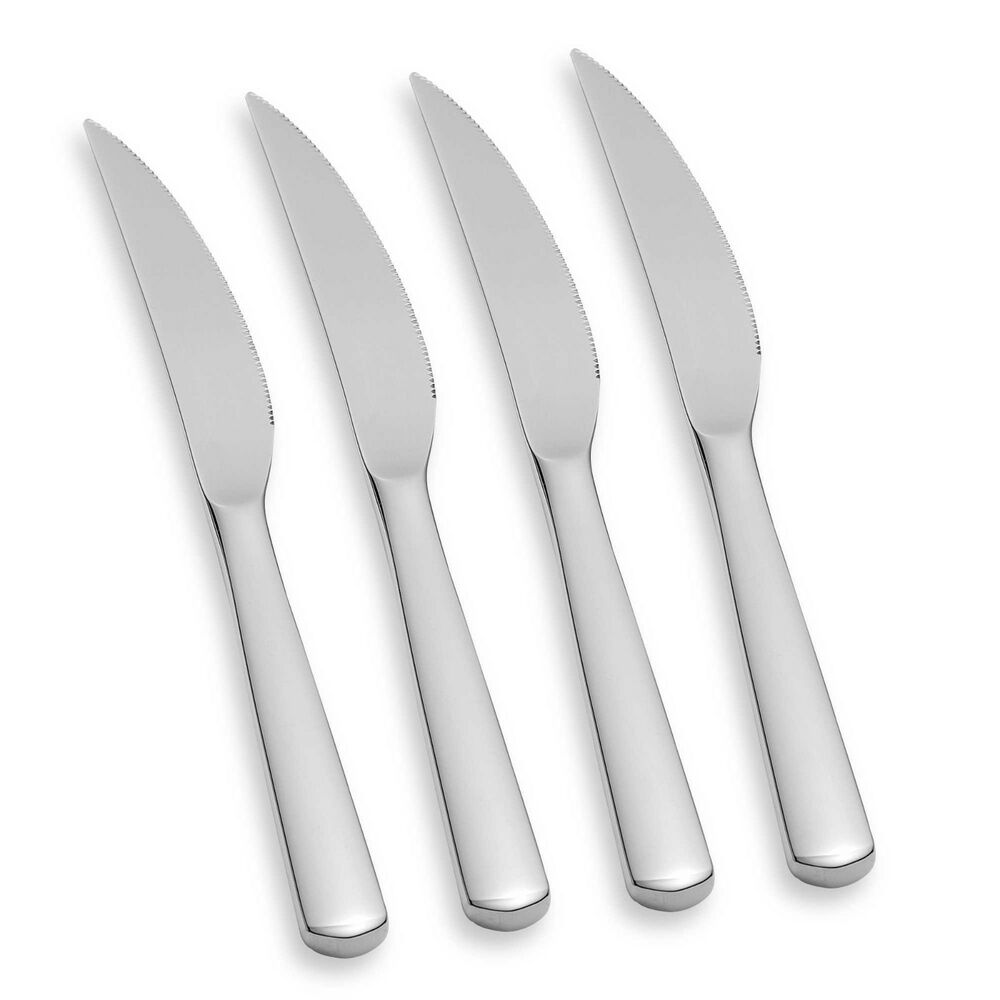 wmf manaos bistro 4 piece steak knife set 18 10 stainless. Black Bedroom Furniture Sets. Home Design Ideas