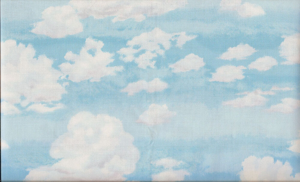 Fat quarter sky clouds landscape cotton quilting fabric for Night sky fabric uk