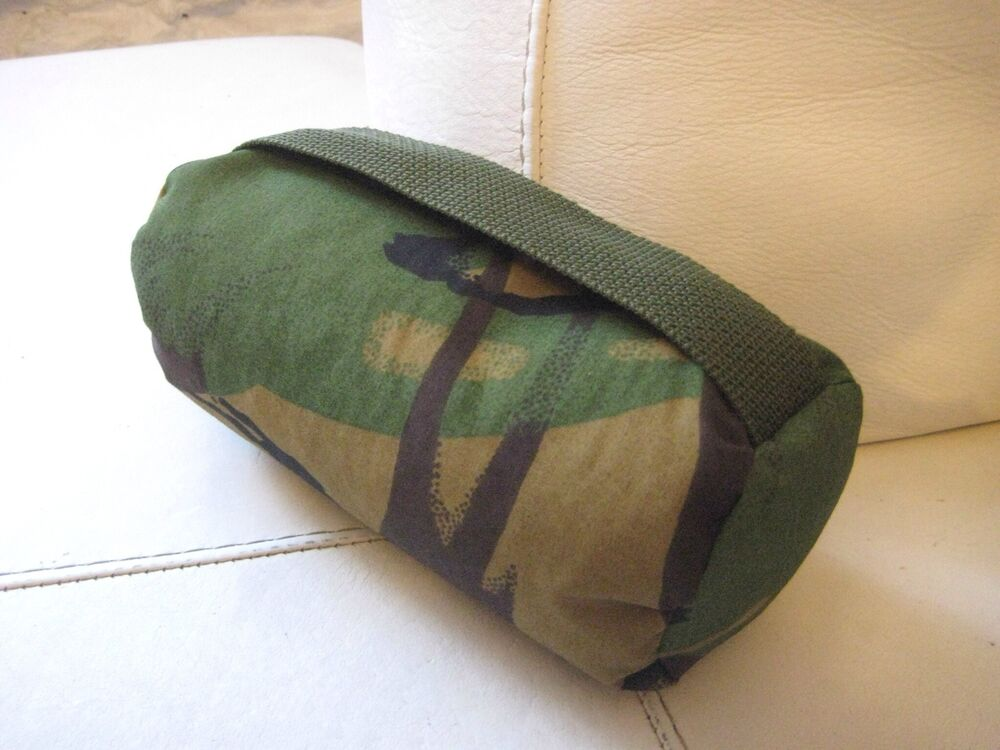 handmade small camouflage air rifle rest bag shooters bean. Black Bedroom Furniture Sets. Home Design Ideas
