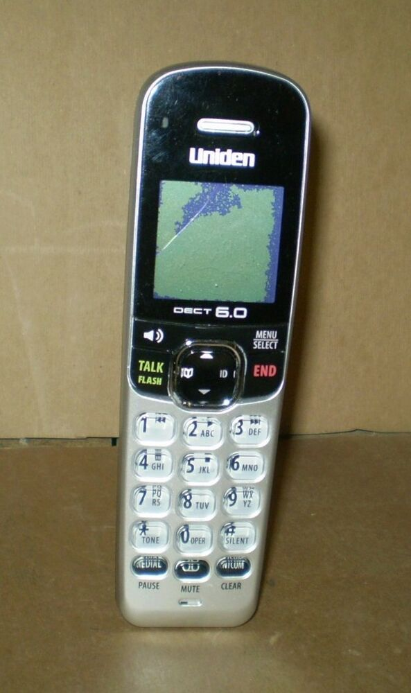instructions for uniden dect 6.0 phone