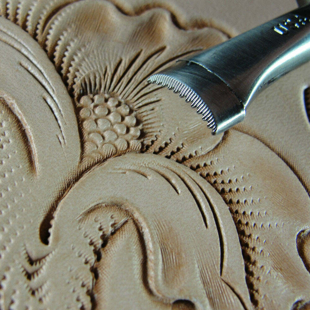 Pro crafters series sheridan style veiner stamp leather