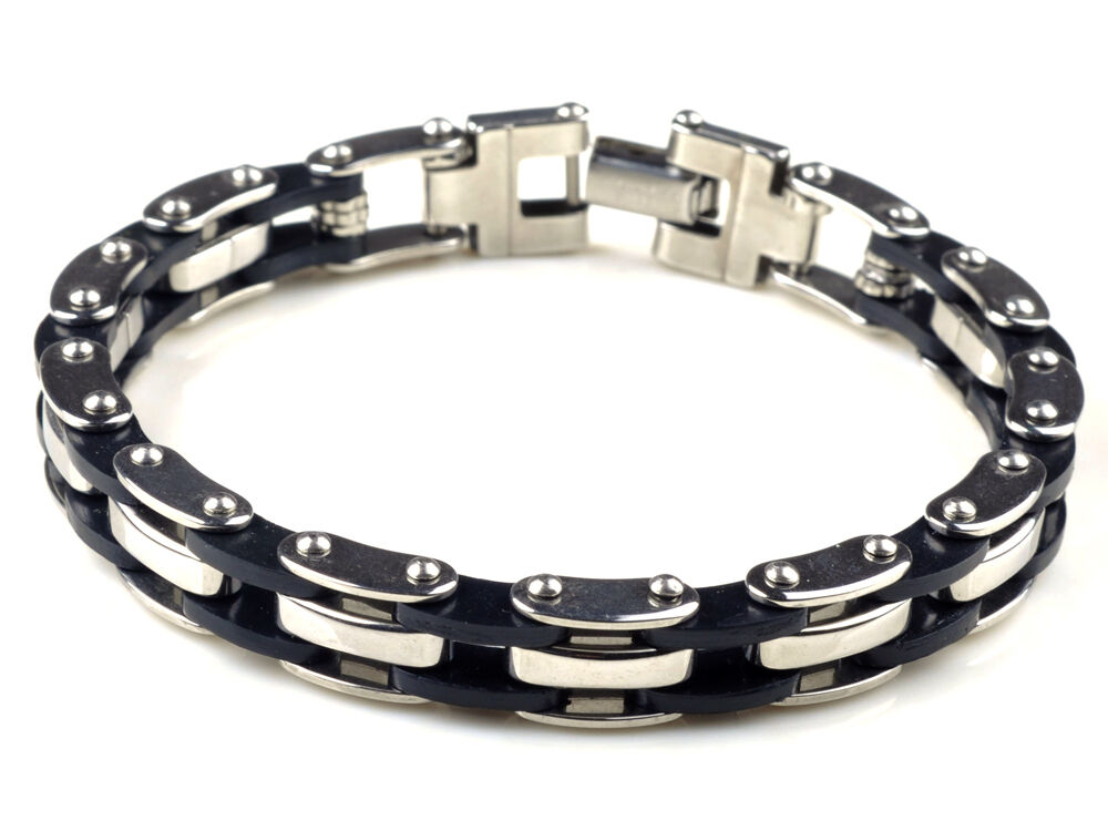 hot high quality mens stainless steel bracelet silver. Black Bedroom Furniture Sets. Home Design Ideas