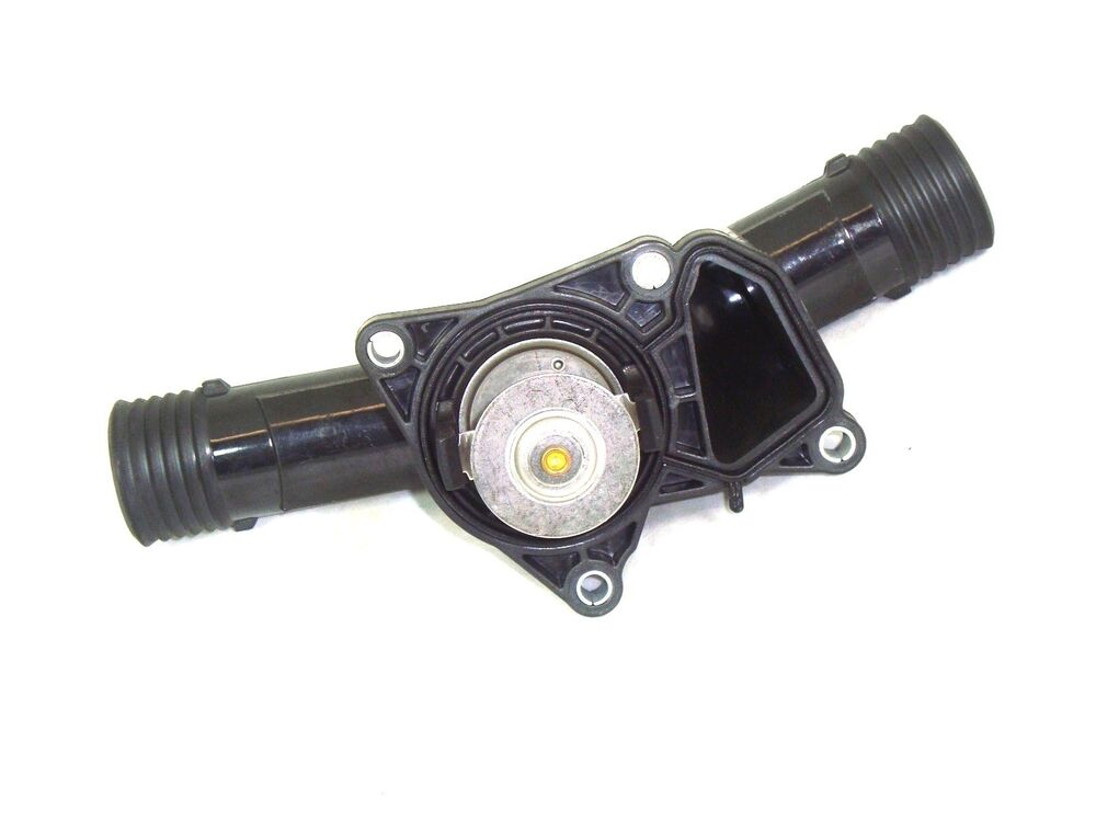 engine coolant thermostat w housing 95c bmw e36 318i 318is. Black Bedroom Furniture Sets. Home Design Ideas