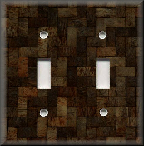 Light Switch Plate Cover -Tile Image