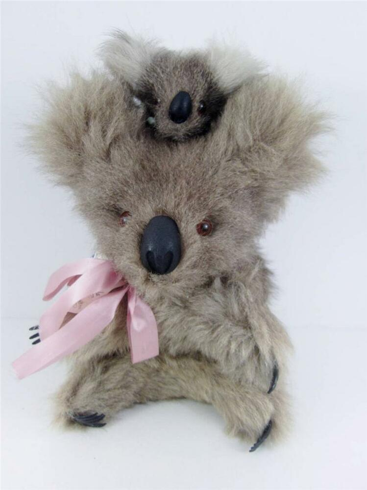 Australia Koala Bear Real Kangaroo Wallaby Fur Mother ...